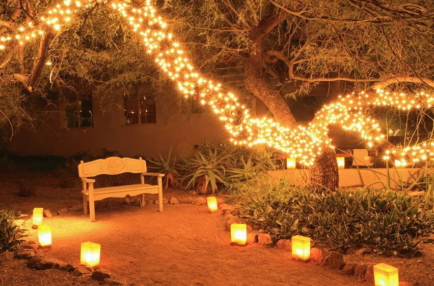 Outdoor Fairy Lighting Fairy lights intriguing pinterest lights fairy lights workwithnaturefo