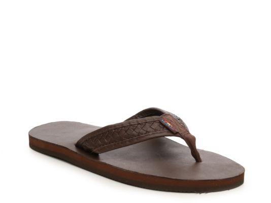 Men's Rainbow Bentley Sandal - Brown