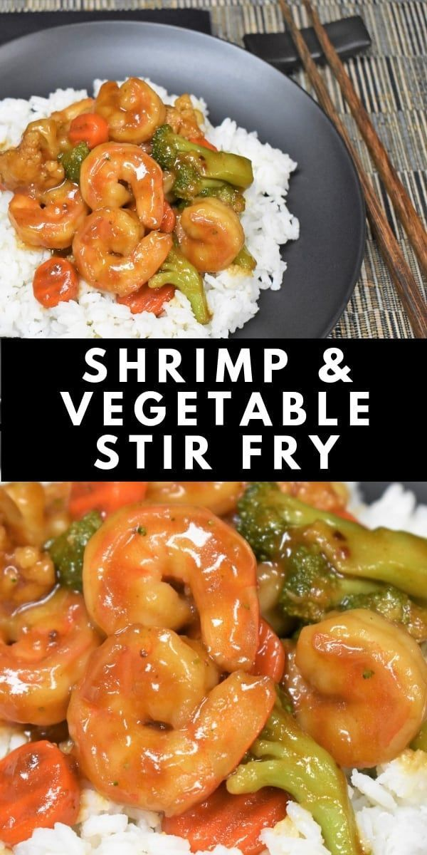 This Shrimp and Vegetable Stir Fry is a delicious, quick dinner that's really easy to make. In this recipe, large shrimp are cooked with mixed vegetables in a homemade stir fry sauce.  #shrimpandvegetablestirfry #shrimpstirfry #vegetablestirfry This Shrimp and Vegetable Stir Fry is a delicious, quick dinner that's really easy to make. In this recipe, large shrimp are cooked with mixed vegetables in a homemade stir fry sauce.  #shrimpandvegetablestirfry #shrimpstirfry #stirfryshrimp This Shri #stirfryshrimp
