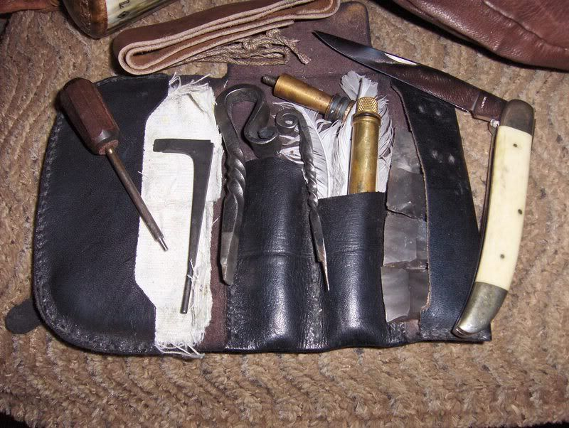 how to soften and clean leather tool pouches
