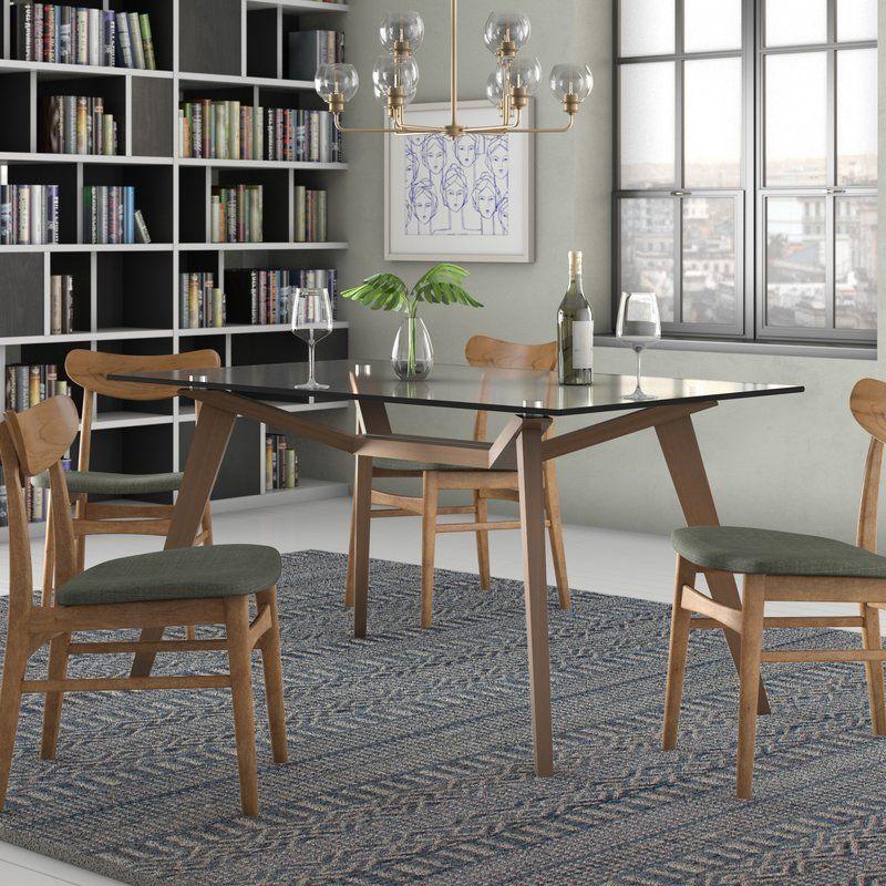 Aeon Furniture Lavinia Solid Wood Dining Table Reviews Wayfair Solid Wood Dining Table Wood Dining Table Rectangle Dining Table
