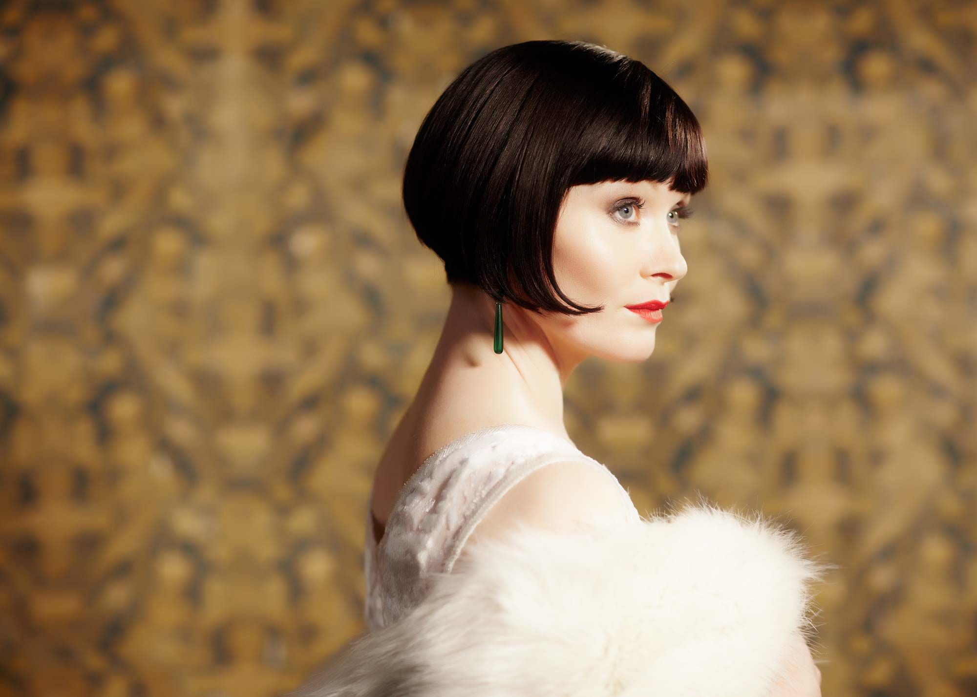 miss fisher haircut fabulously effervescent natural redhead essie davis on my