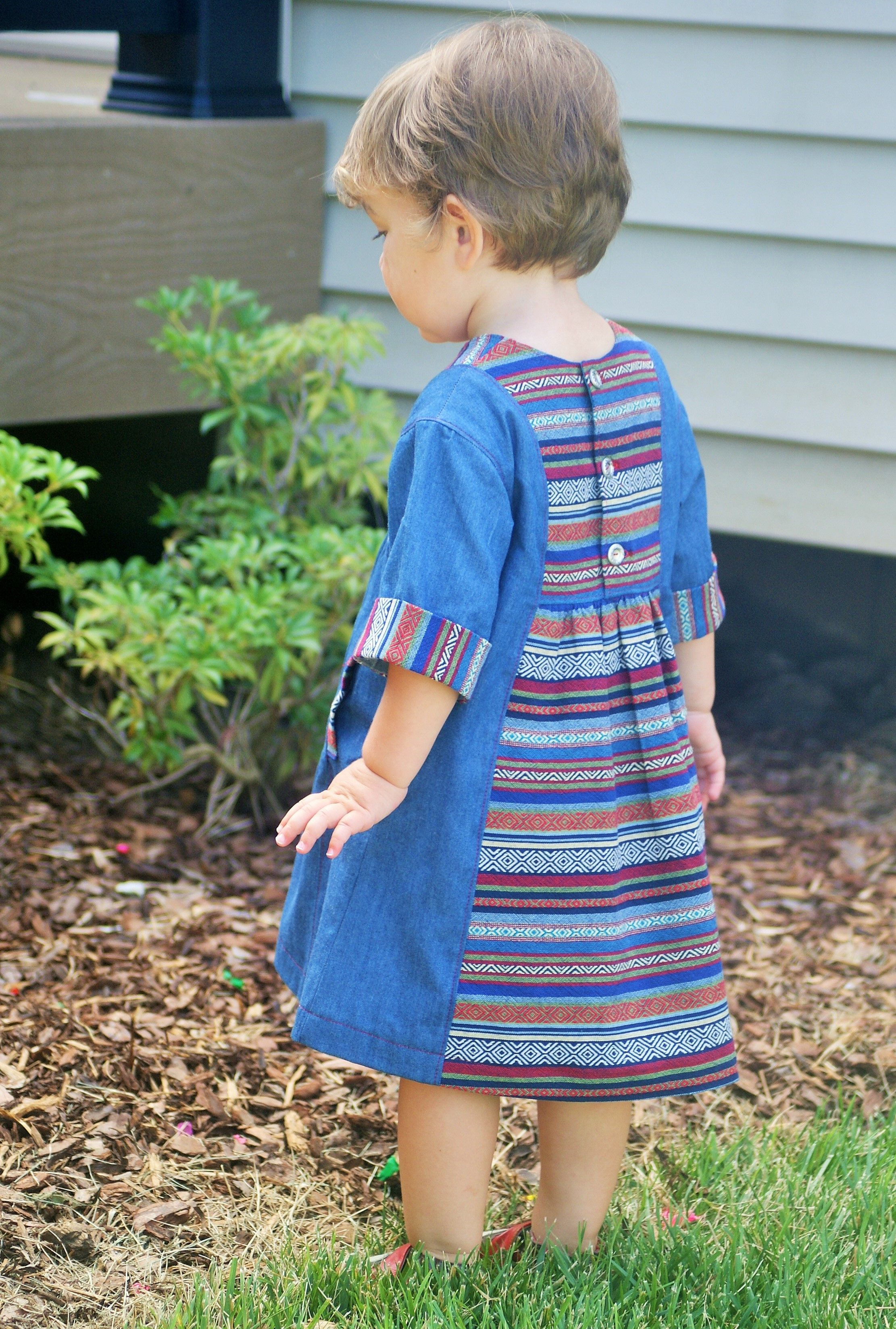 Hide And Seek Kids Denim Hide And Seek Dress Sewing Children Toddlers