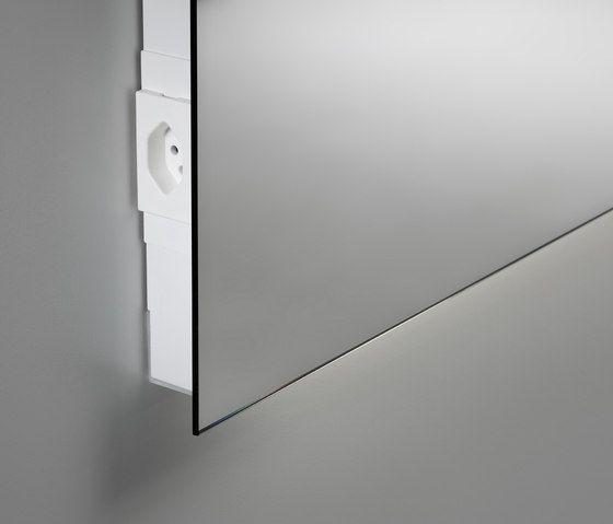 Spiegelwand Cover Mit Steckdose Von Talsee Wandspiegel Bad