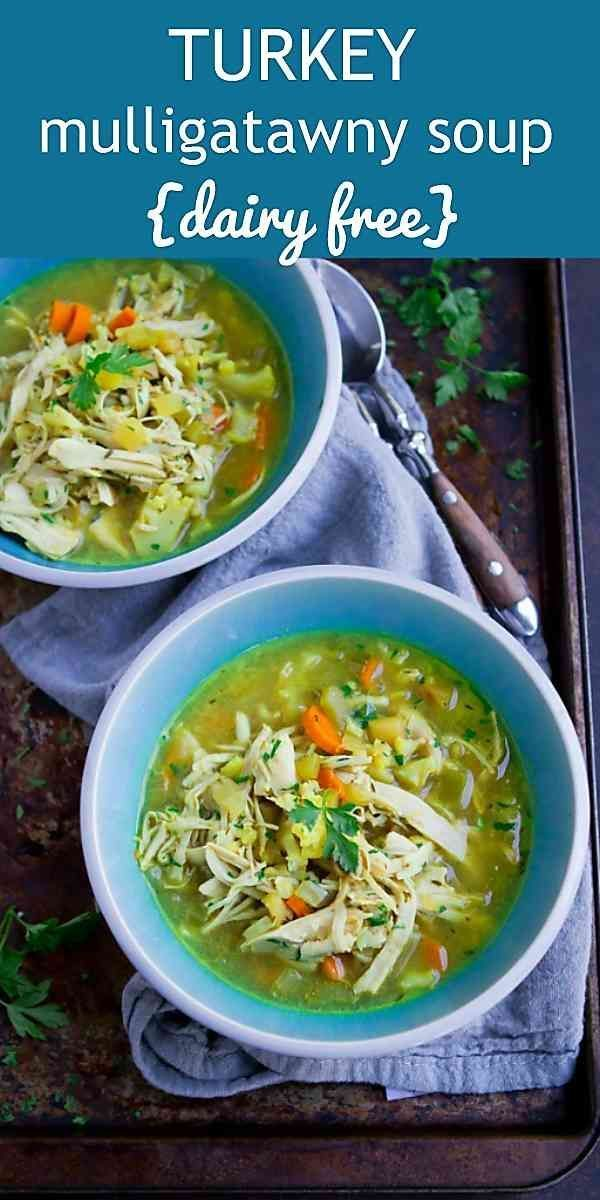 Turkey Mulligatawny Soup #mulligatawnysoup This fantastic dairy free Mulligatawny soup is a great way to use up leftover turkey or chicken. 238 calories and 2 Weight Watchers SP #leftoversrecipes #turkeyrecipes #wwfreestyle #mulligatawnysoup Turkey Mulligatawny Soup #mulligatawnysoup This fantastic dairy free Mulligatawny soup is a great way to use up leftover turkey or chicken. 238 calories and 2 Weight Watchers SP #leftoversrecipes #turkeyrecipes #wwfreestyle #mulligatawnysoup