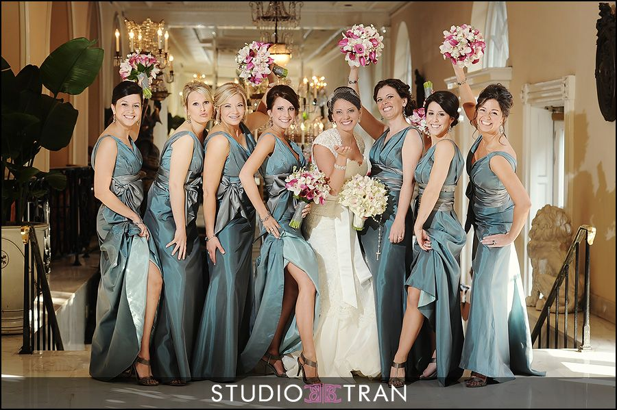 Justin and Kristen Married - Studio Tran Photographers