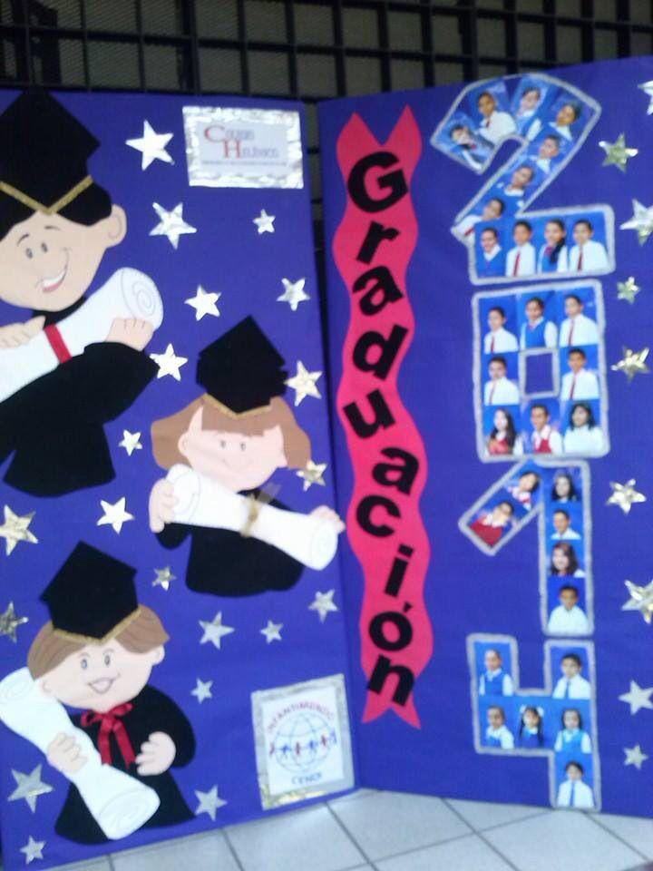 Pin De Liliana Abarca En Manualidades Graduacion Infantil