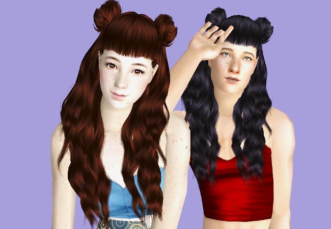 Looooong Over Due Leahs Hair Dump For The Sims 2 With The