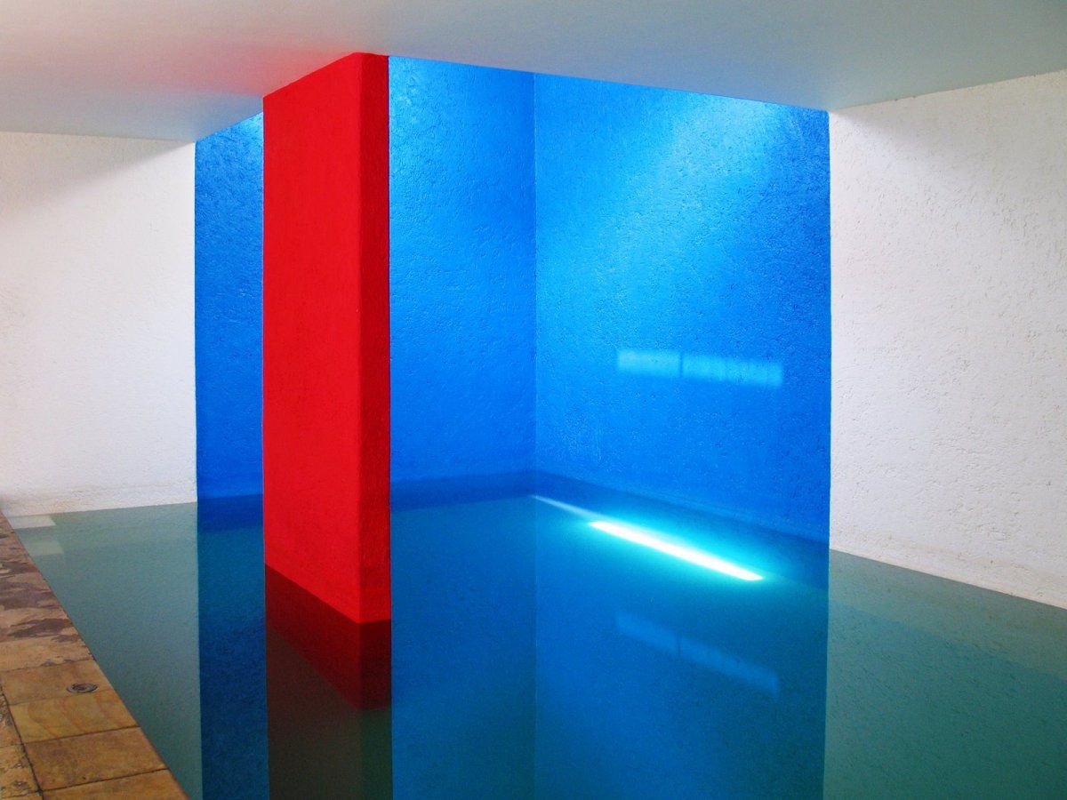 Five Artists Who Do Not Fear Color V Luis Barragan Luis Barragan Architecture Architect