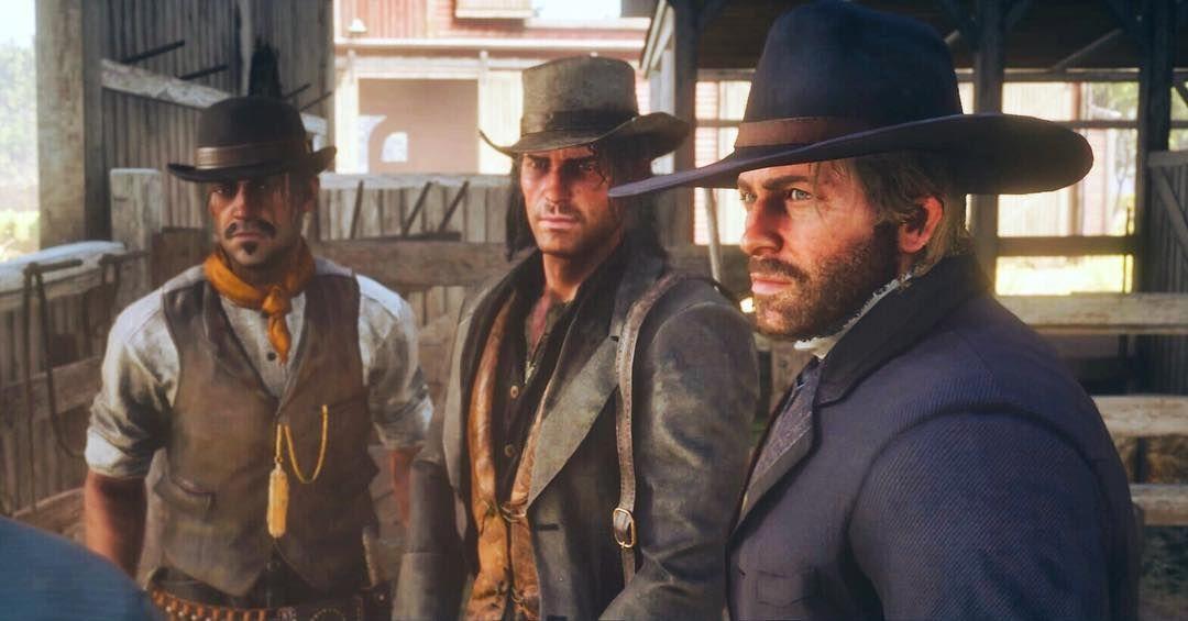 Arthur, John And Javier Red Dead Redemption 2