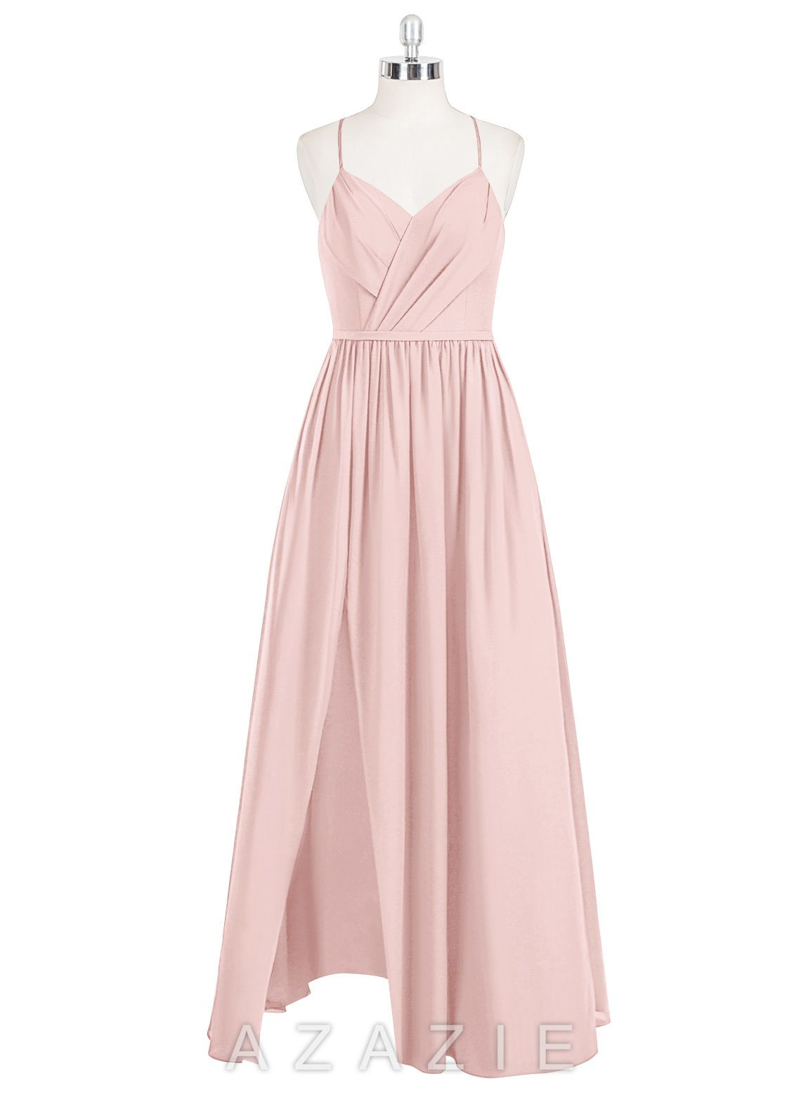 Cora bridesmaid dress favorite color bridal parties and wedding shop azazie bridesmaid dress cora in chiffon find the perfect made to ombrellifo Gallery