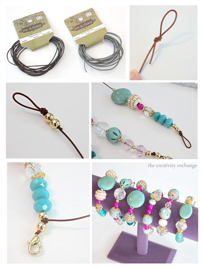 Make Your Own Leather Cord Necklace's
