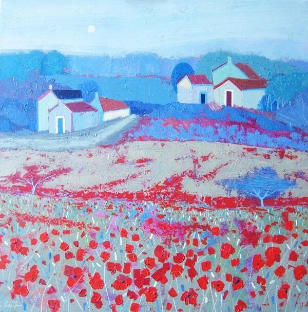 Giuliana Lazzerini「Roadside Poppies」