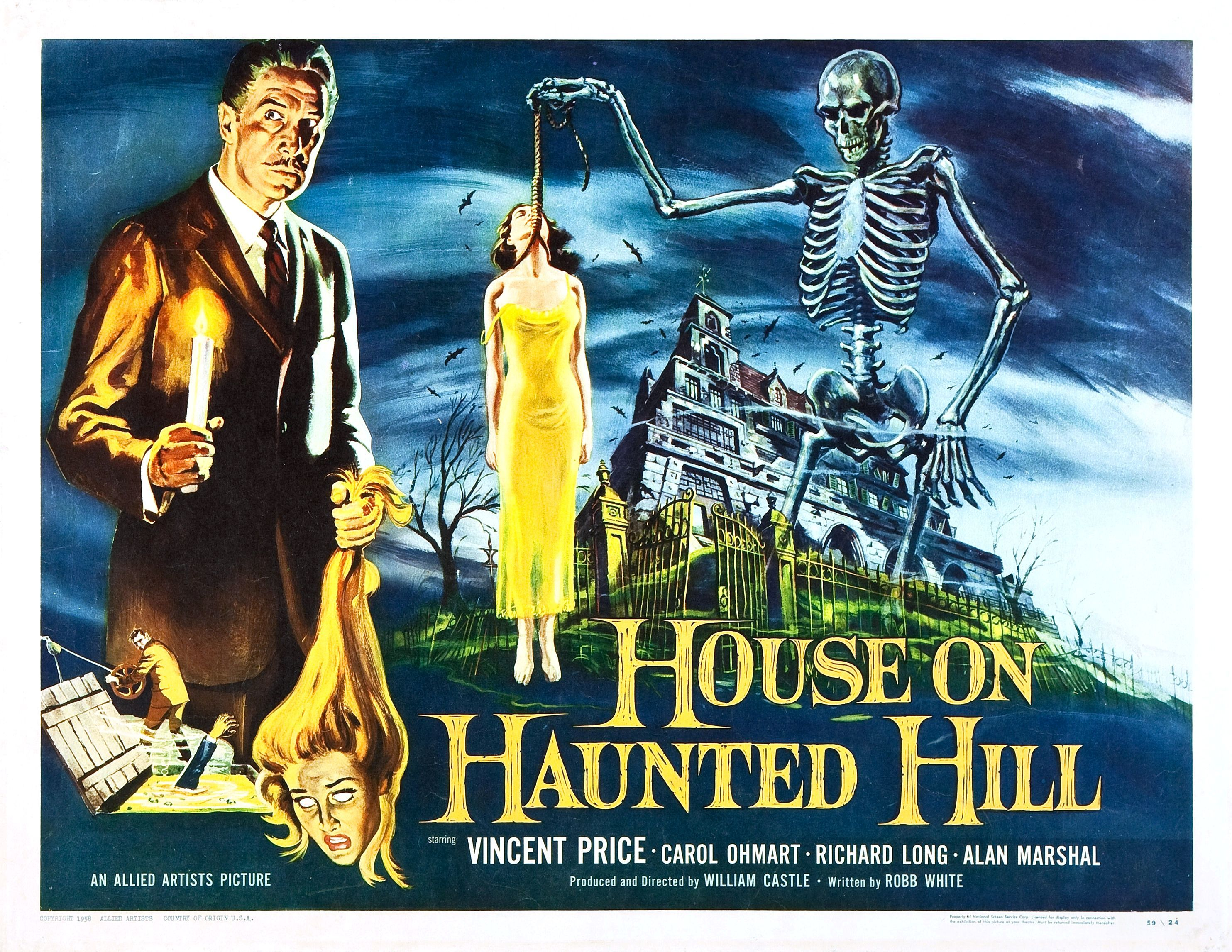 The House on Haunted Hill has a solid favorite. I