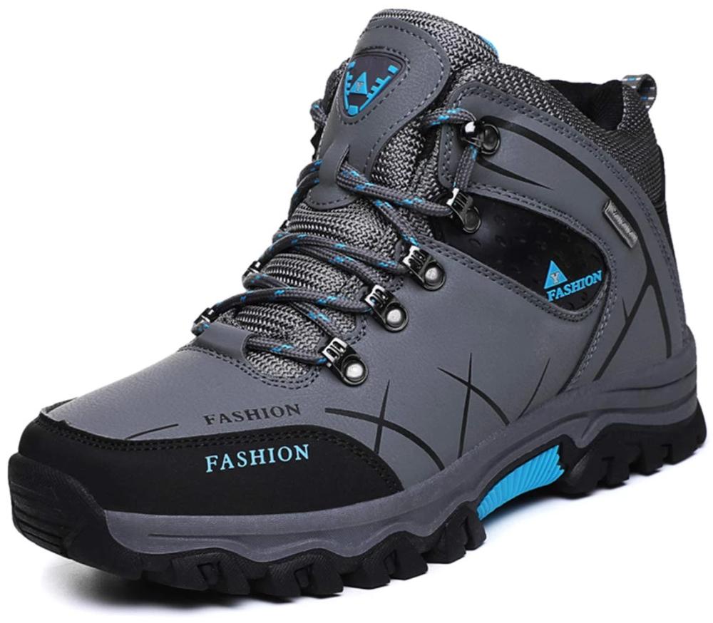 TSIODFO Men Snow Boots Waterproof Ankle