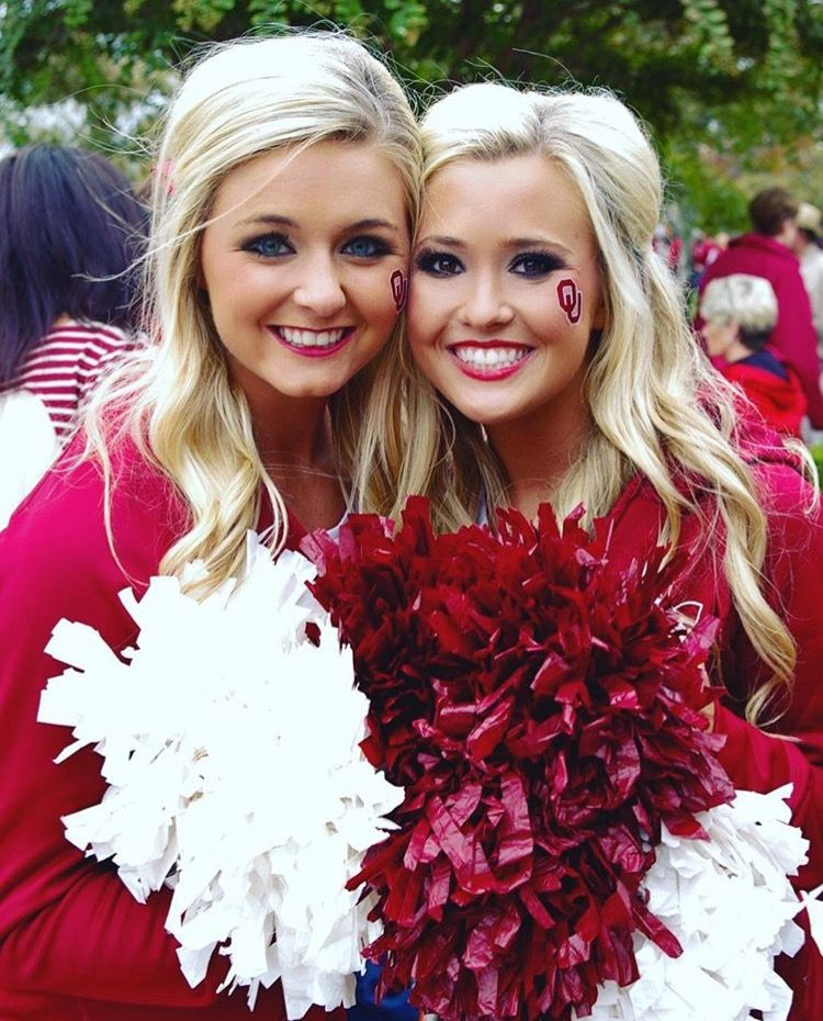 Pin by Jason Wimer on OU Cheer Hot cheerleaders