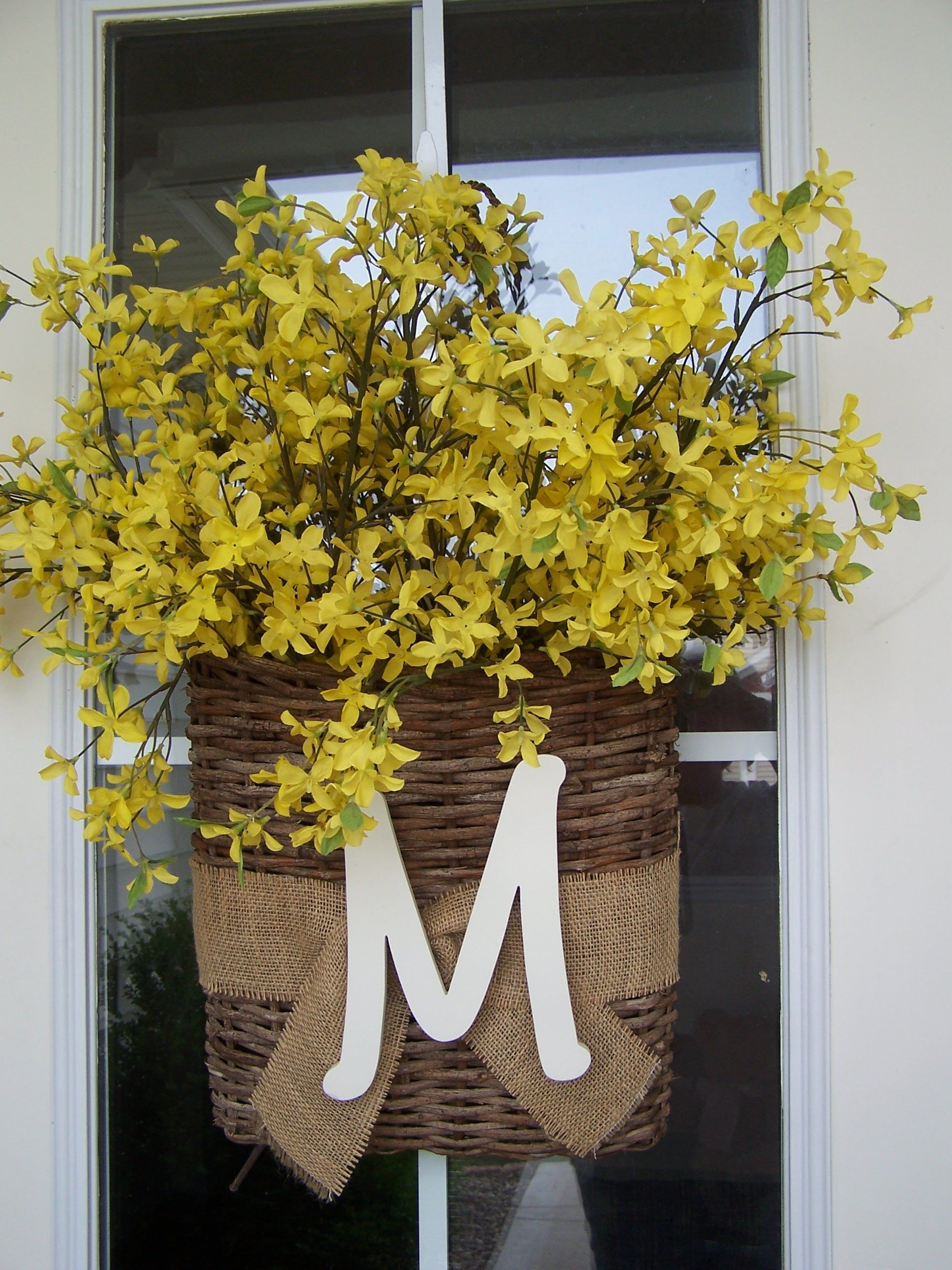 Superb Front Door Hanging Basket