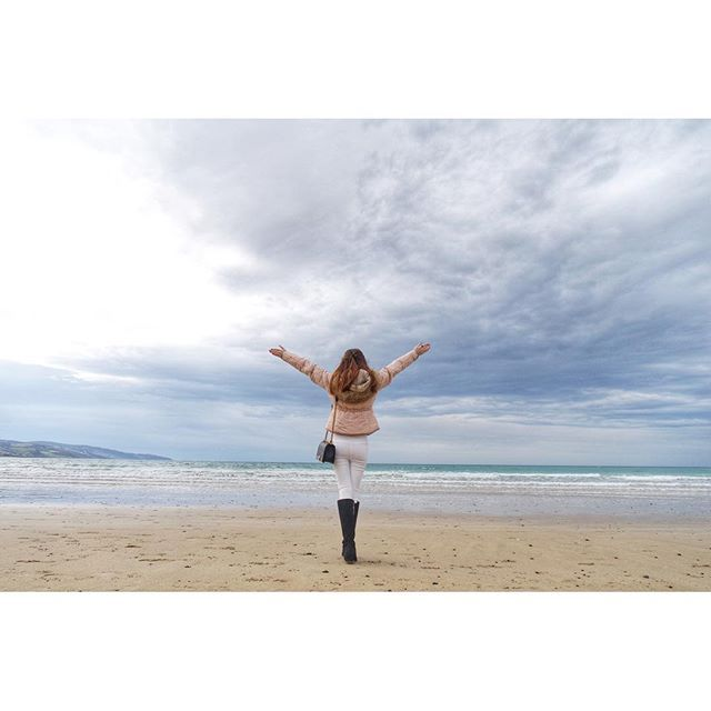 Believe in your dreams  #throwback #tbt #dannadtravelogue #dannadmelb #nadgoestomelb #iglandscape #visitgreatoceanroad #greatoceanroad #apollobay #GetFASH by whitechocoz http://ift.tt/1LQi8GE