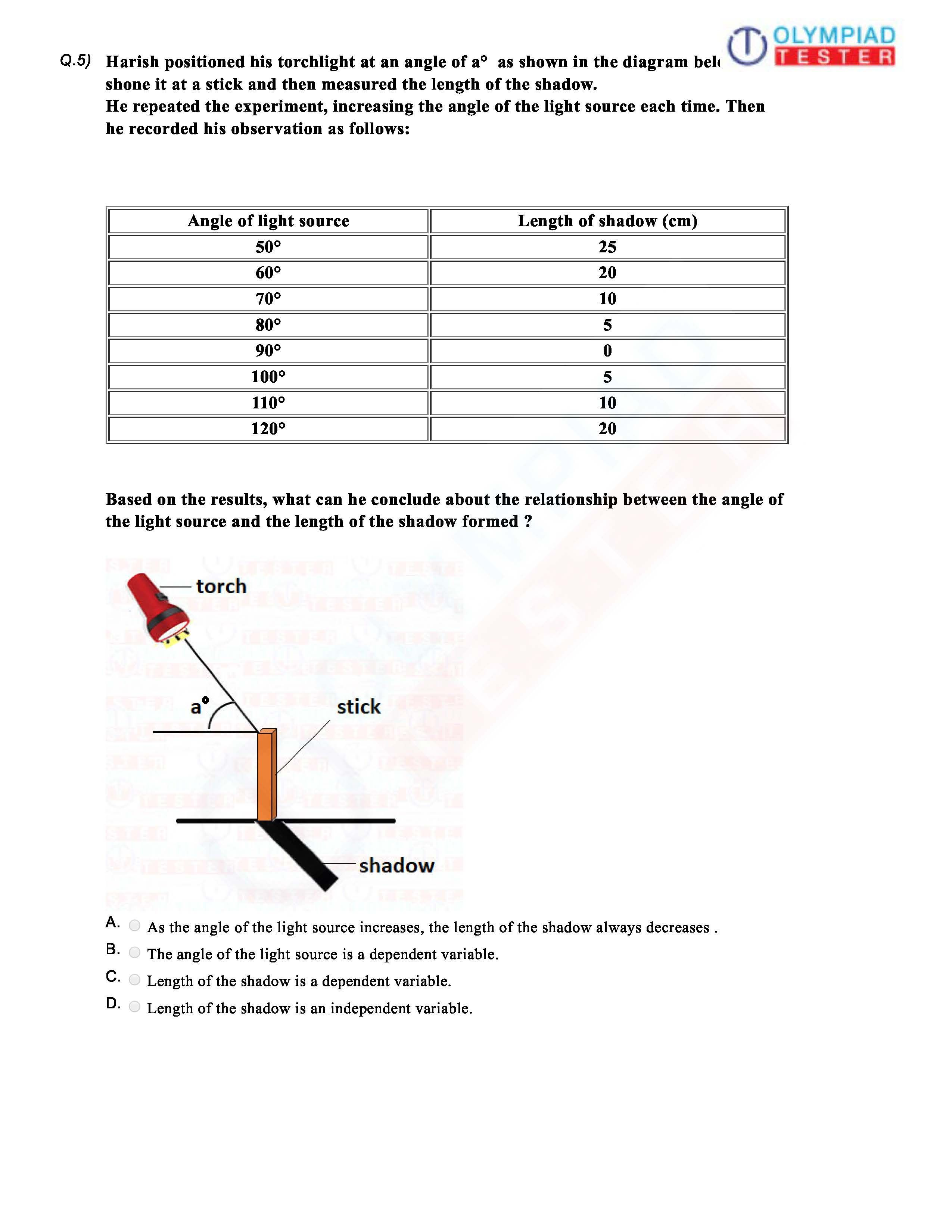 Download Cbse Science Class 6 Sample Paper On Light As A