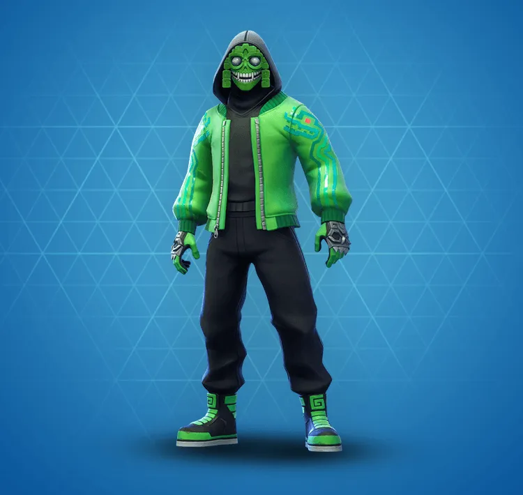 Fortnite Mezmer Outfits Fortnite Skins Fortnite Zombie Dress Green Outfit