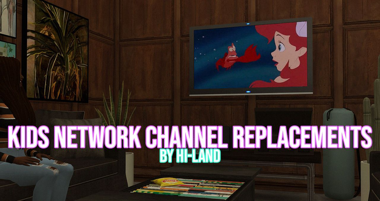 Kids Network Channel Replacements By Hi Land Reupload Of Kids Shows Movies That Replace Eas Default Onesmore Info Photos On My Websit Sims Baby Sims Sims 4
