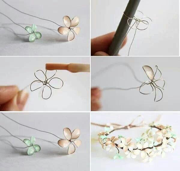 Handmade nail polish jewels