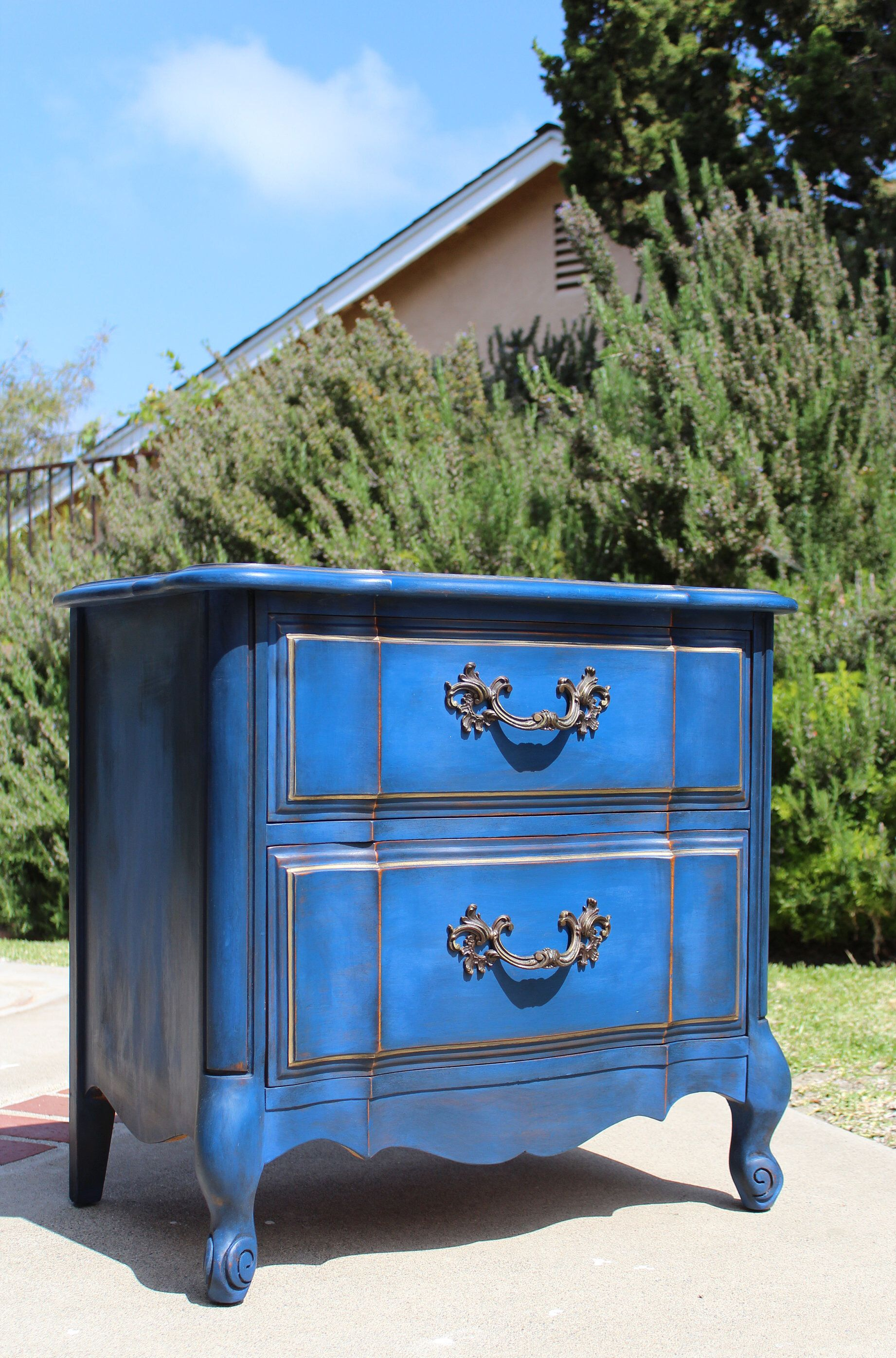 Sold Vintage French Provincial Nightstand Night Stand Night