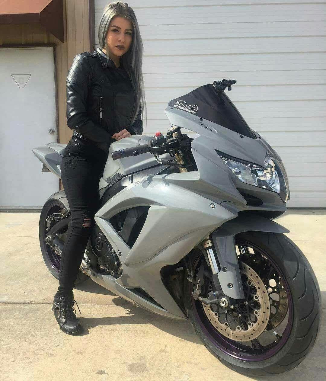 Pin En Lady Bikers