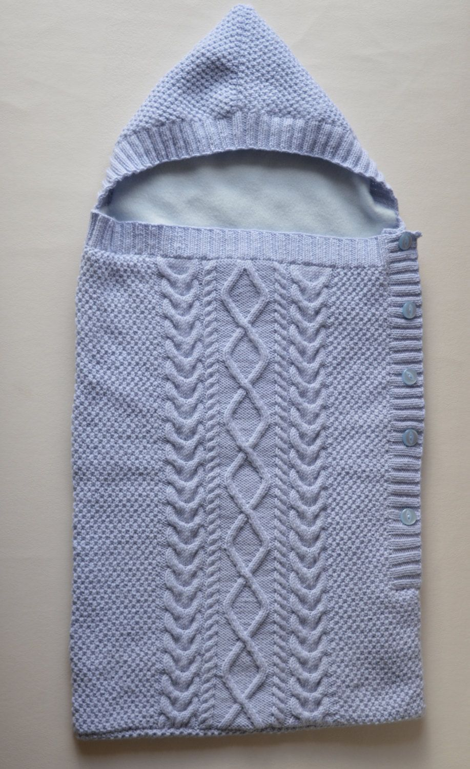 Baby Cocoon, Cable Knit Blanket, Sleeping Bag, Baby Snuggle Bag ...