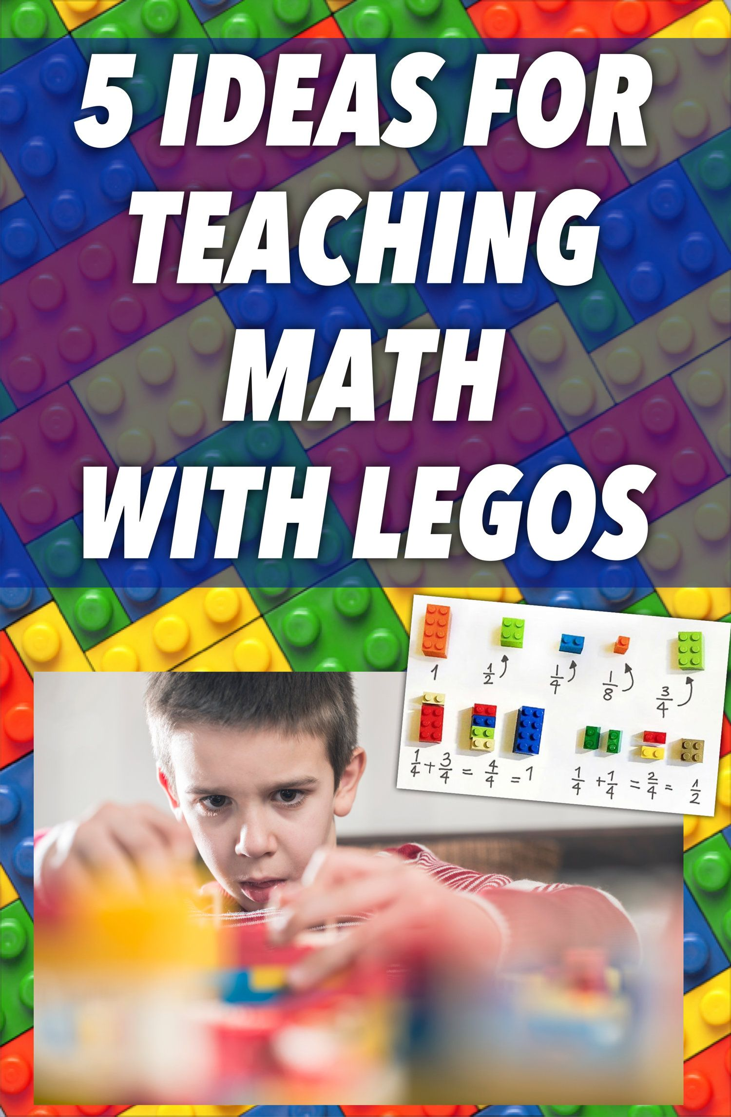 5 Ideas For Teaching Math With Legos