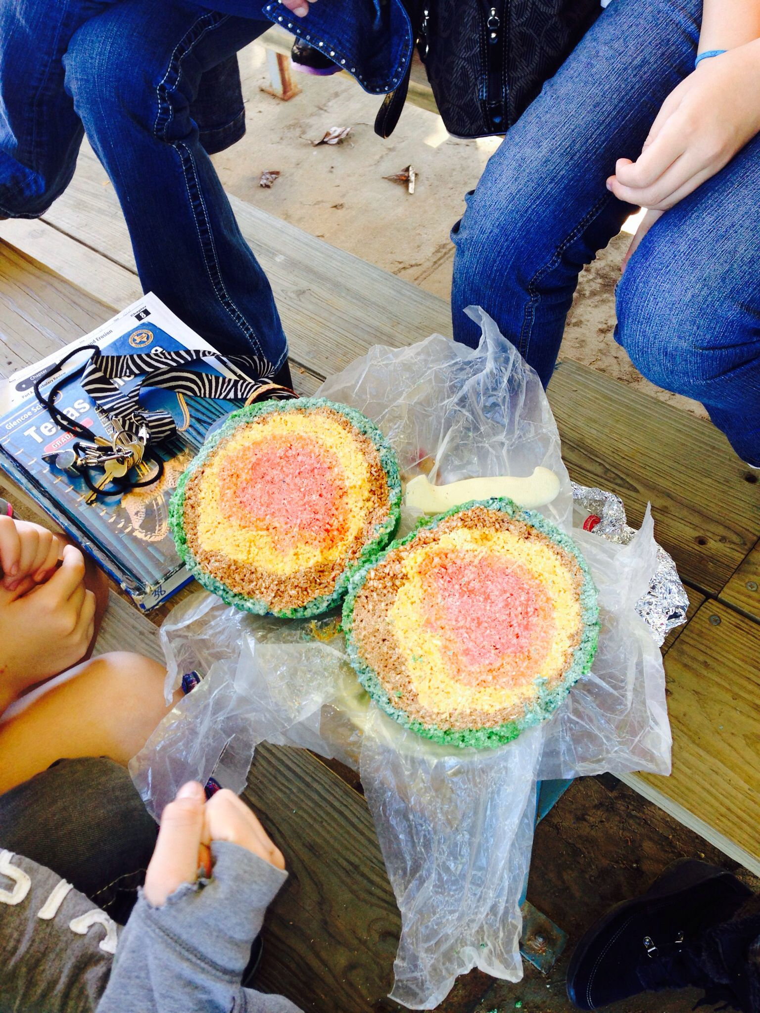 Rice Crispy Earth Layer Project Yummy Too
