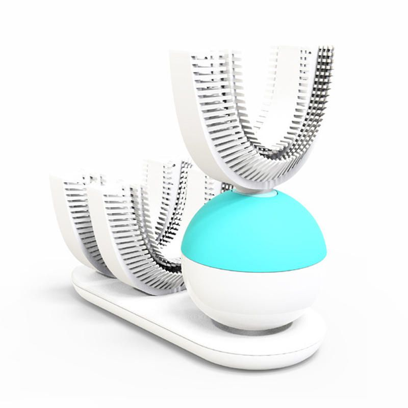 Amabrush 360 Automatic Electric Sonic Toothbrush Quickly Brush In