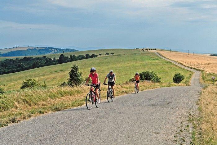 Spoznávajte Slovensko z bicykla.