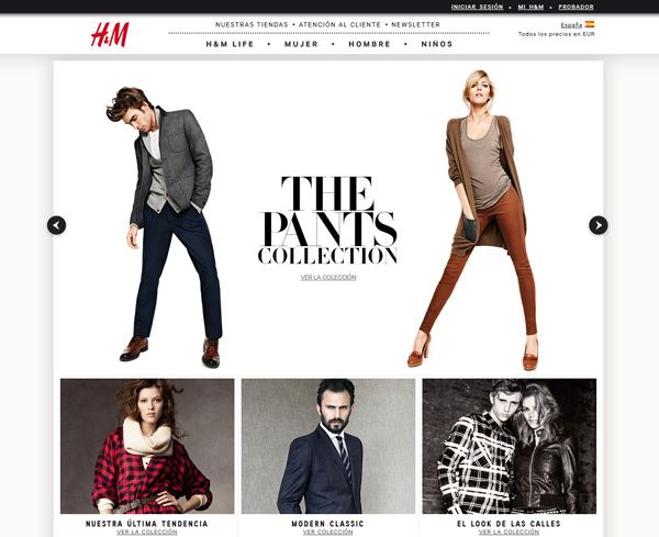 f6669ee9125c Ideas creativas para hacer crear diseño pagina web moda alta costura ...