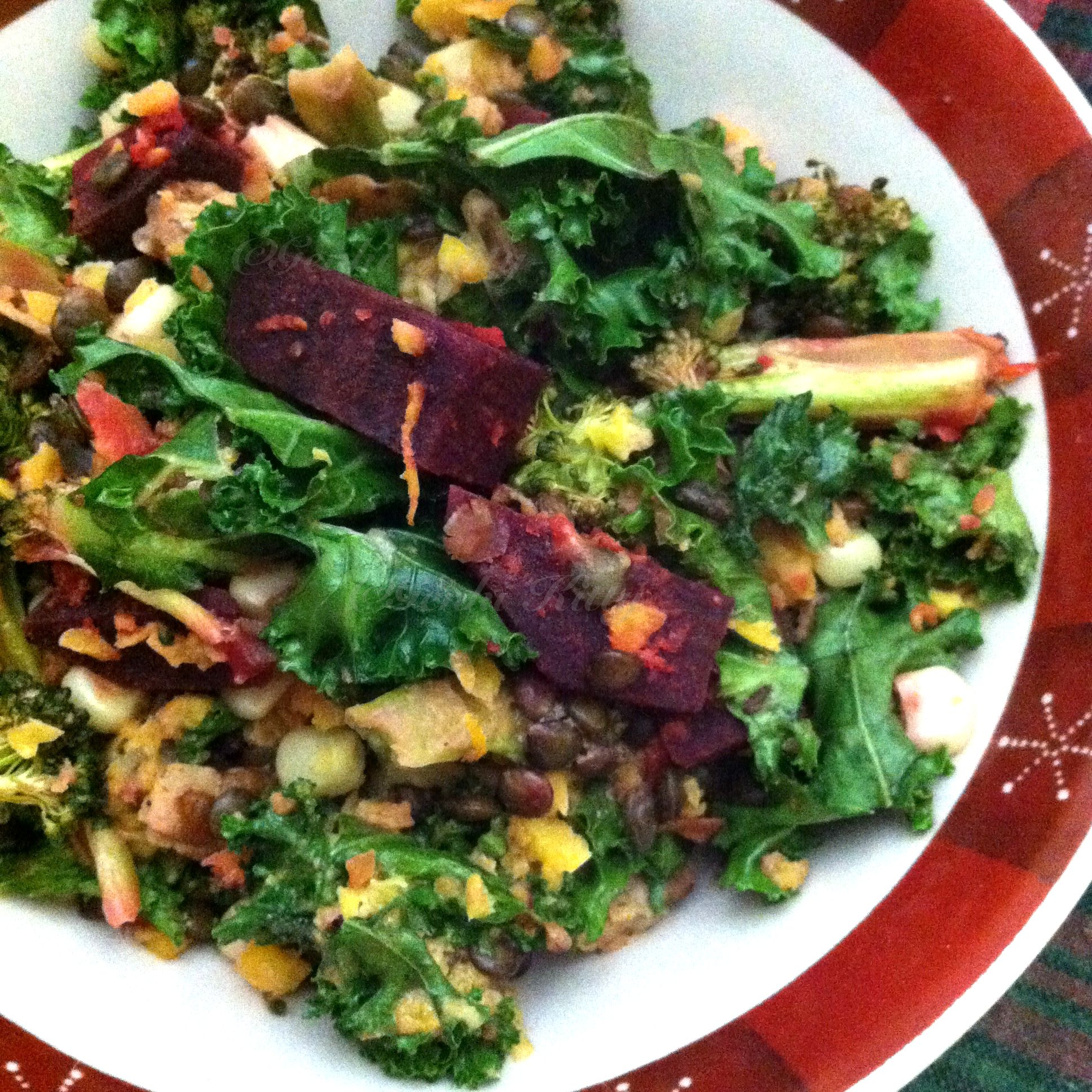 Vegan Pregnancy Salad