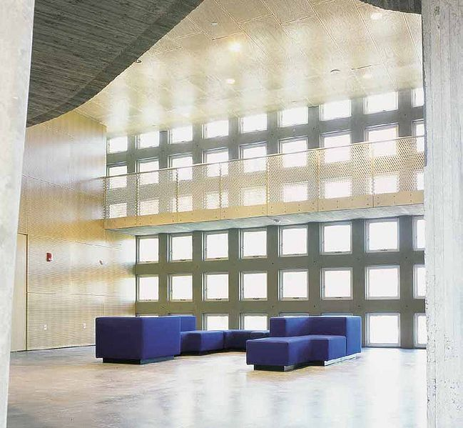 Simmons Hall, interior space