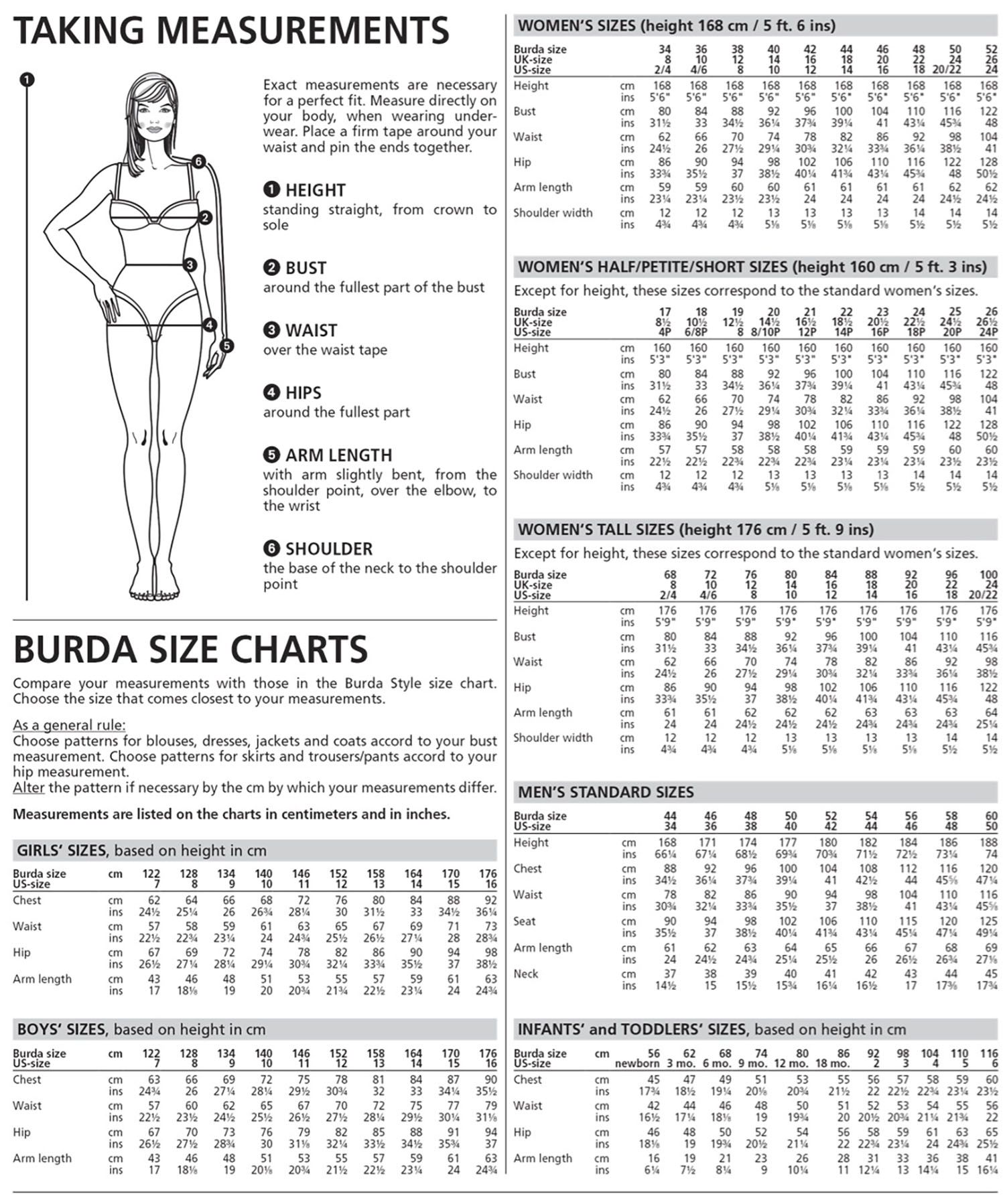 Cap Sleeve Blouse Plus Size Size Chart Sewing Patterns Dress
