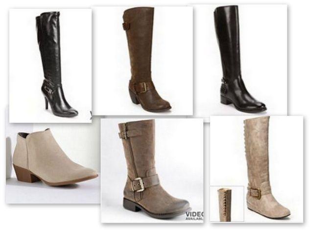 Kohls Womens Boots $25.49 shipped