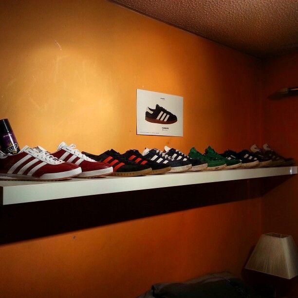 Gotta have a shelf for my stripes ///