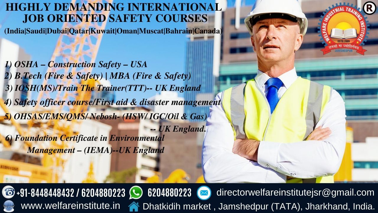 Pin on Safety Officer Course in India
