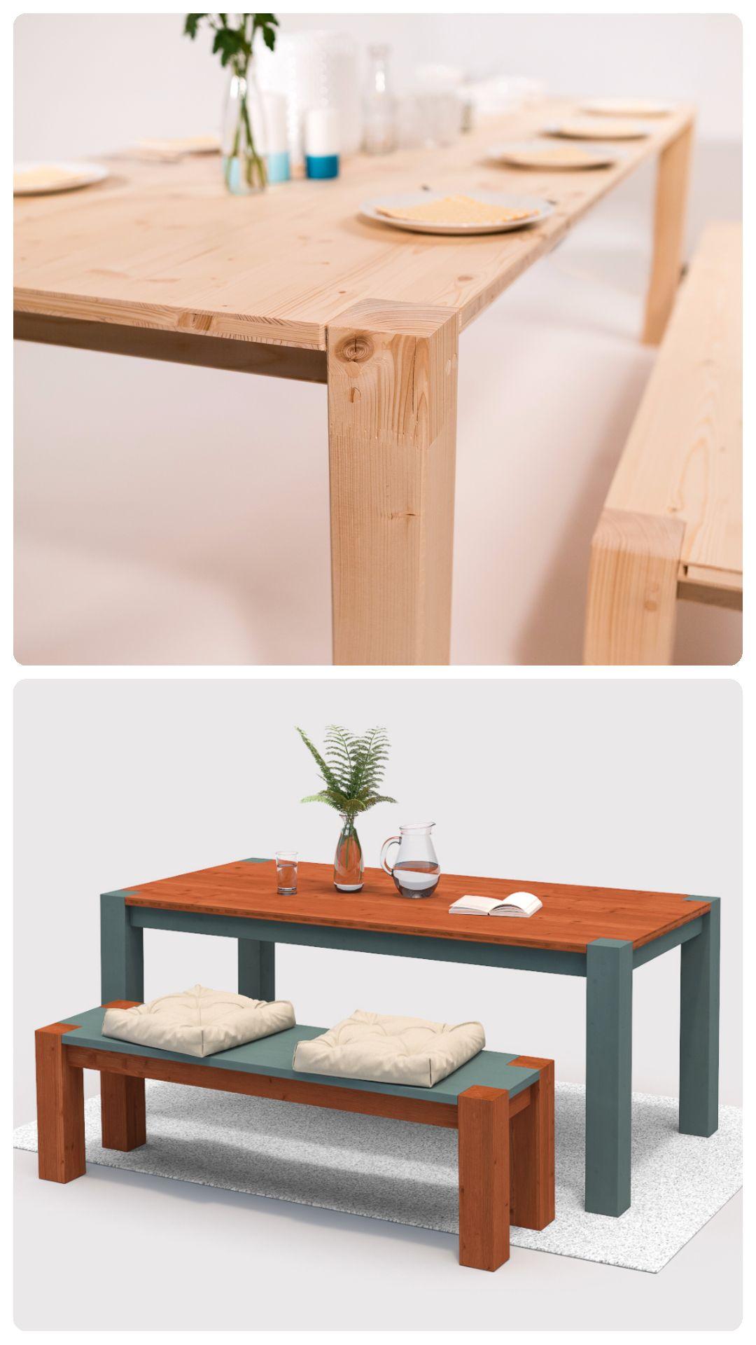 Tisch Maren Create By Obi Massiv Tisch Diy Mobel Mobel