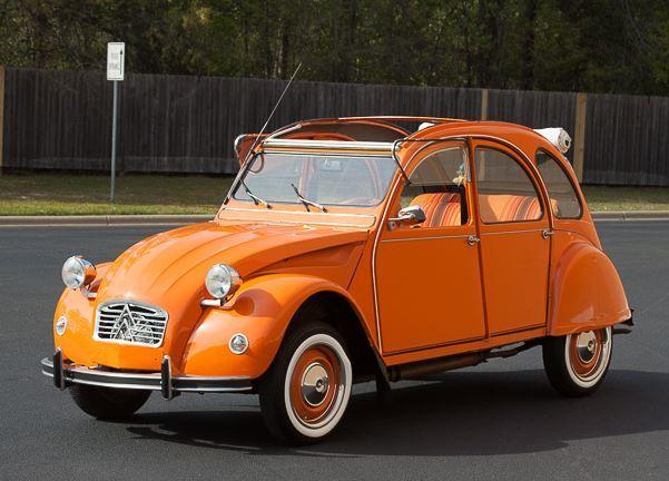 L Escargot D Orange 1980 Citroen 2cv W No Reserve Citroen 2cv Citroen Citroen Car