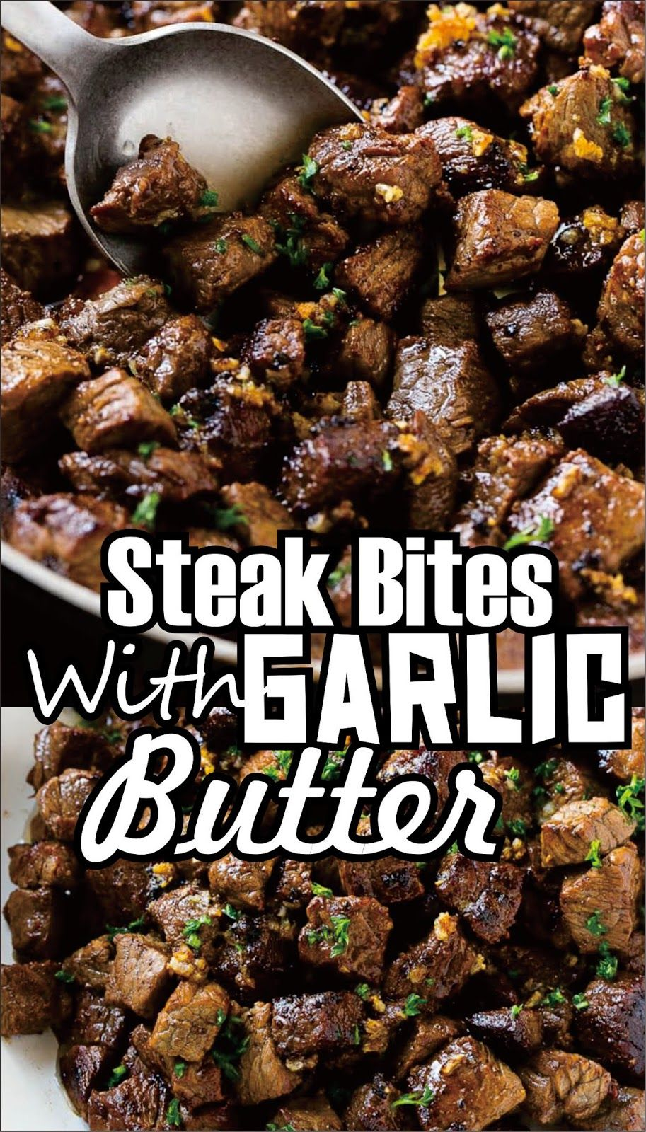 Photo of STEAK BITES WITH GARLIC BUTTER  If you've got meat lovers in your account you Ge…