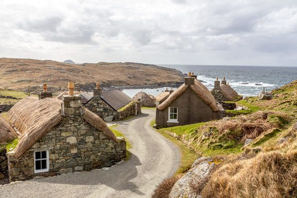 You Can Spend the Night in This Picturesque Blackhouse Village