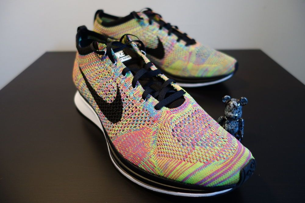 nike flyknit mens synthetic athletic sneakers ebay