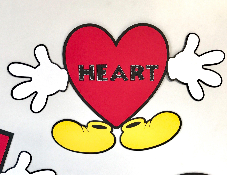 Mickey Mouse Shapes Preschool Kindergarten Classroom