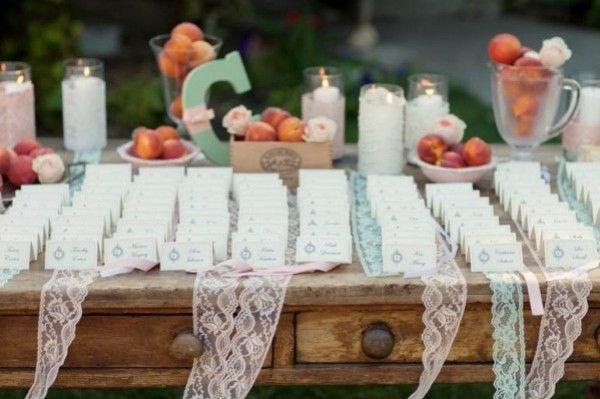 rubans de dentelle decortaion table mariage vintage retro ancienne on