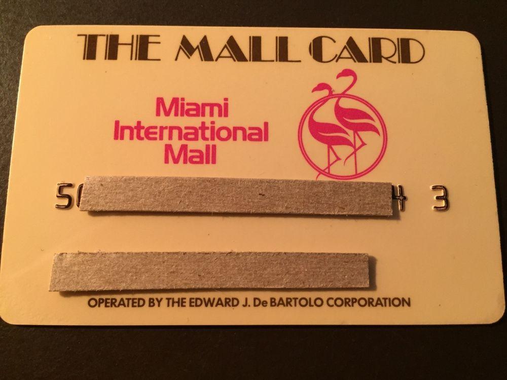 Miami florida international mall 1970s vintage collectors