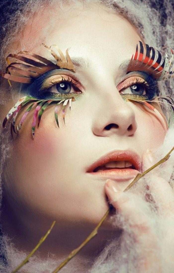 Le meilleur maquillage artistique dans 43 images exotique - Maquillage chapelier fou ...