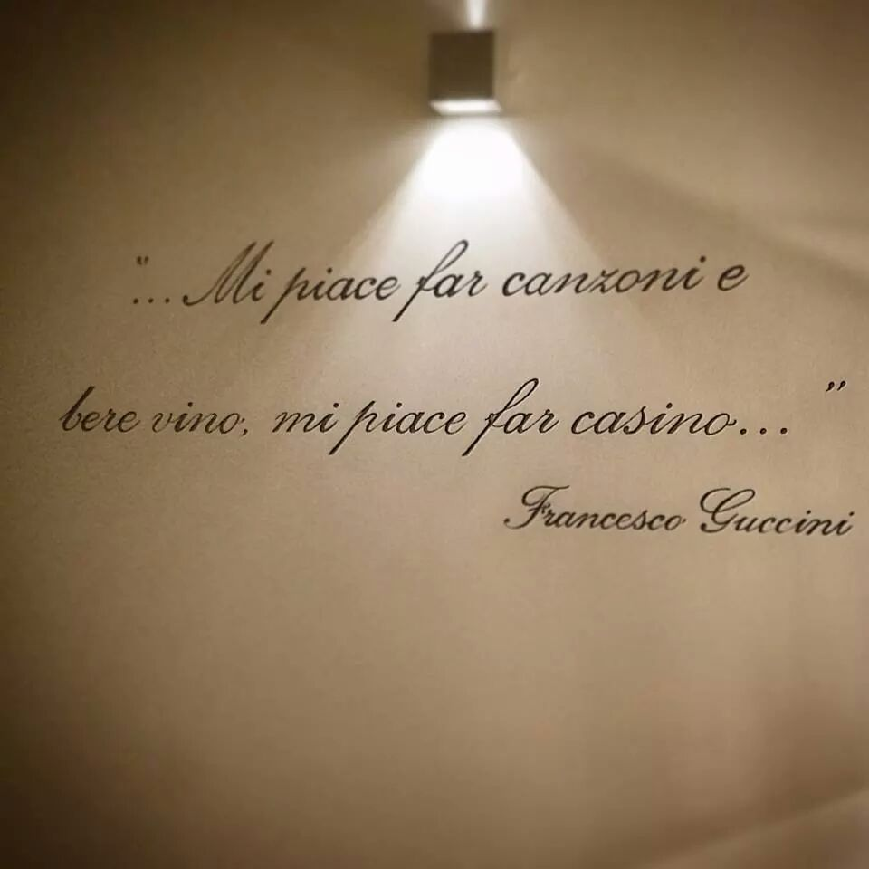 Francesco Guccini Mi Piace Far Canzoni E Bere Vino Mi